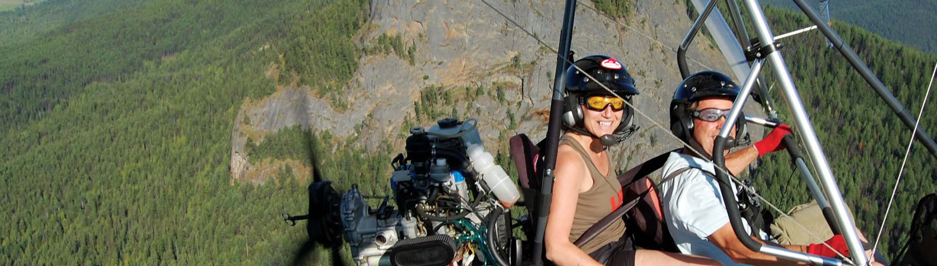 Hang Gliding and Paragliding Vernon BC