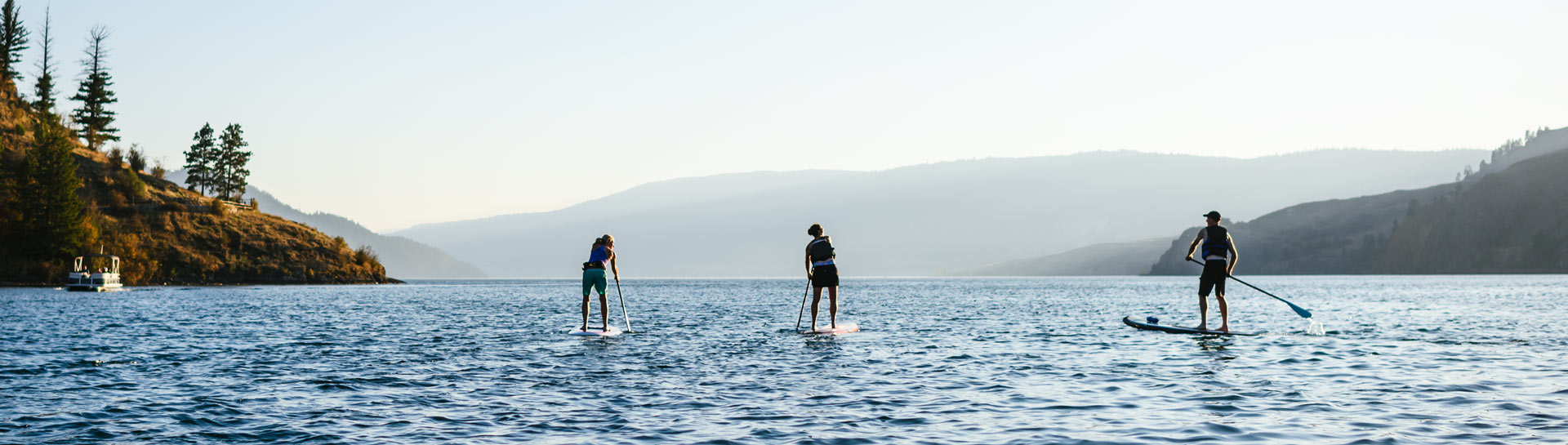 Stand Up Paddleboarding Vernon
