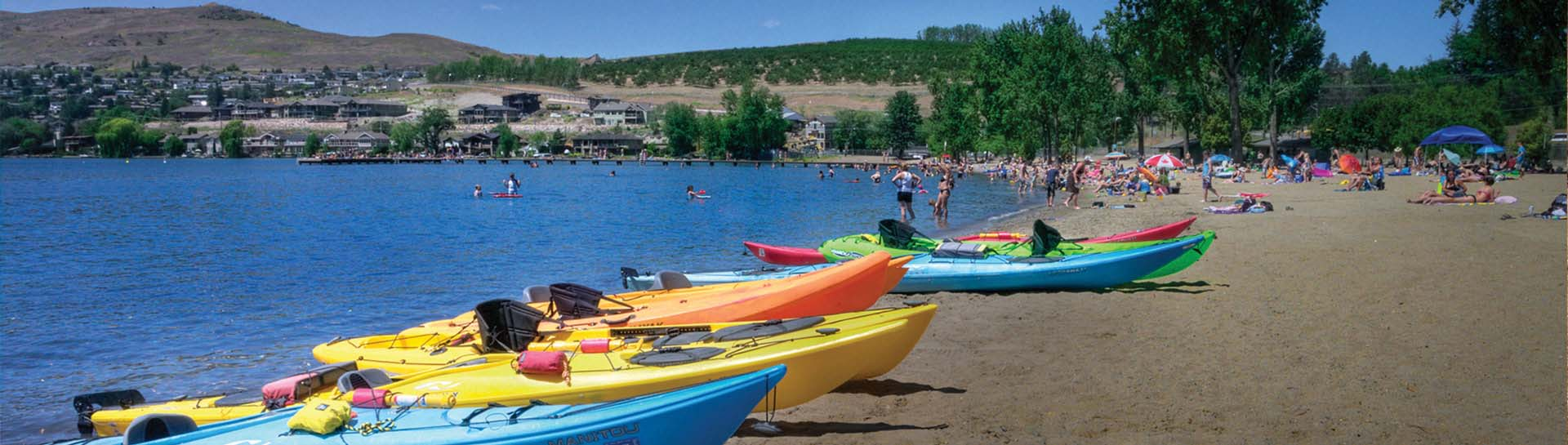 Beach Fun in Vernon BC