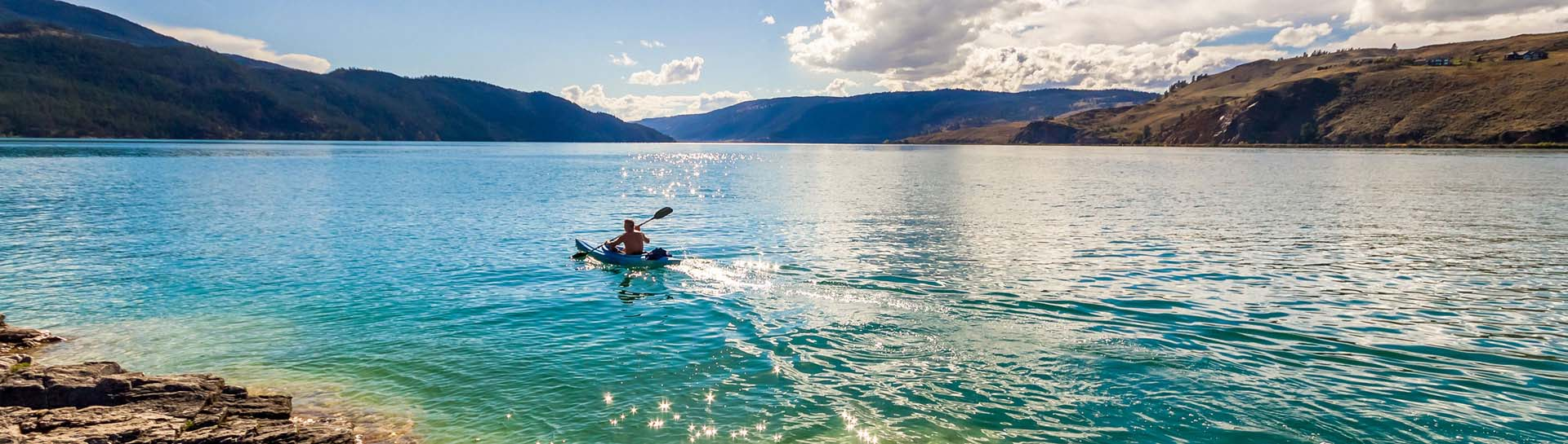 Kayaking on Kal Lake