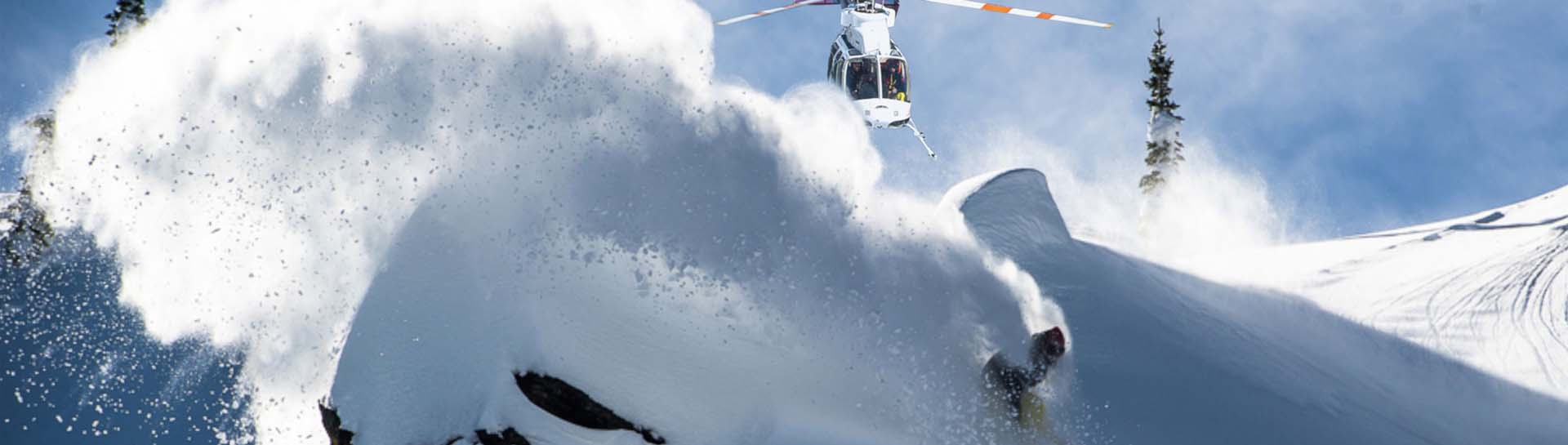 Heliskiing in Vernon BC